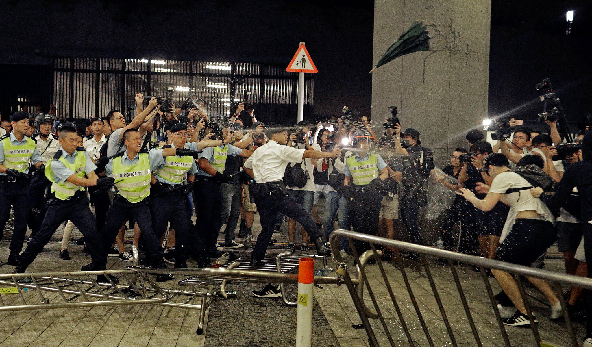 Bild zu Hongkonger Auslieferungsgesetz - Protest