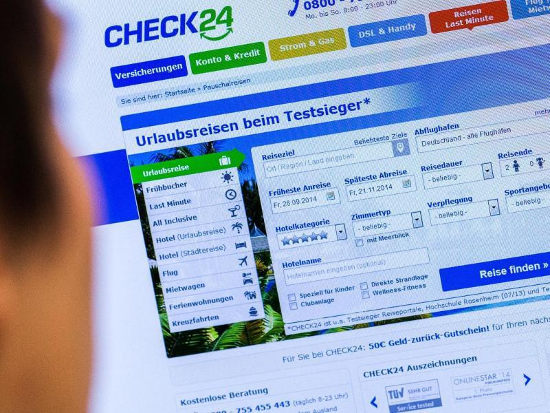 Bild zu Vergleichsportal Check24
