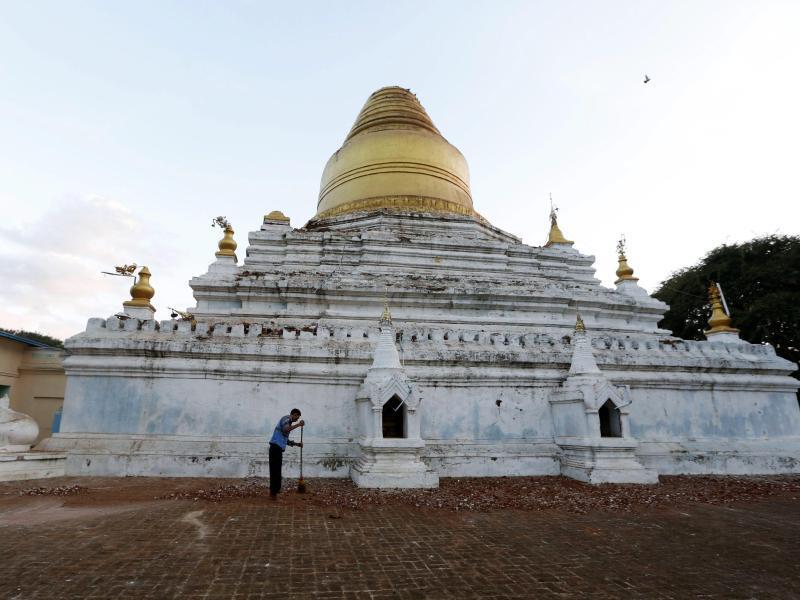 Bild zu Tempel in Bagan