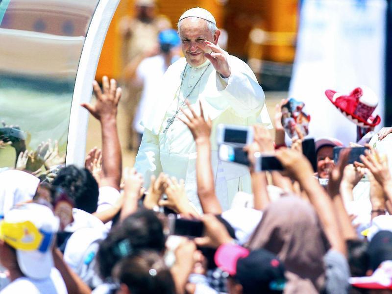 Bild zu Papstbesuch in Peru