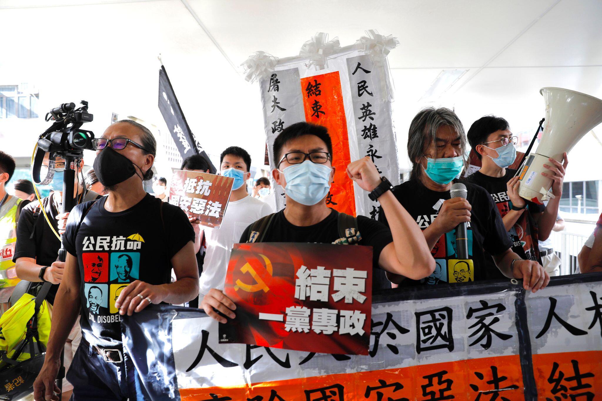Bild zu Jahrestag der Rückgabe Hongkongs