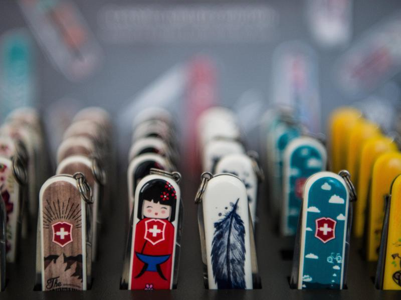 Bild zu Taschenmesser mit unterschiedlichem Design
