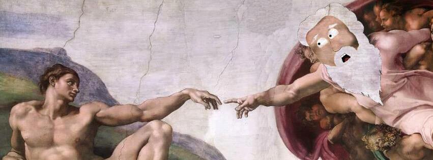Bild zu Gott, Facebook
