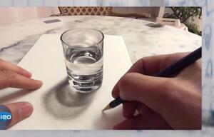 Galileo - Wie bekommt man die perfekte Illusion aufs Papier?