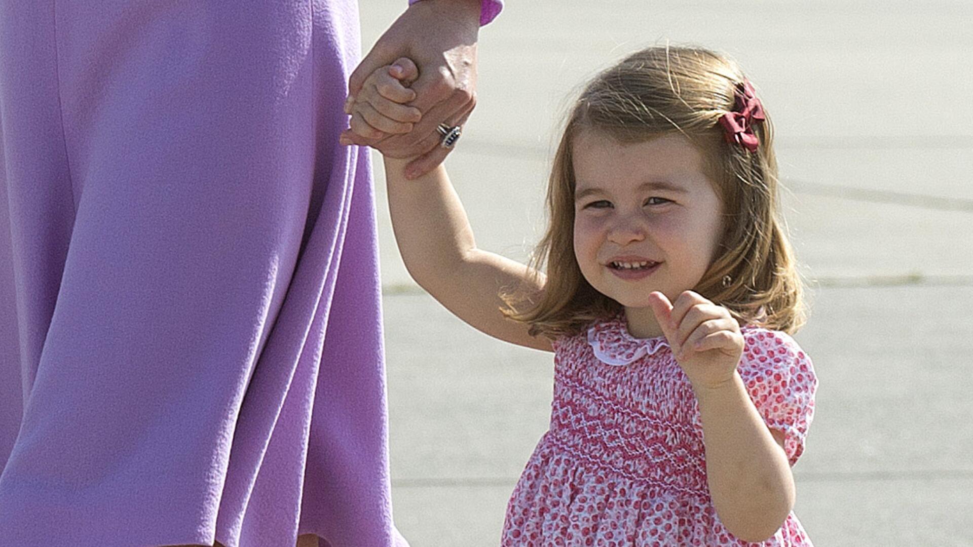 Bild zu Prinz William spricht über seine Tochter Charlotte