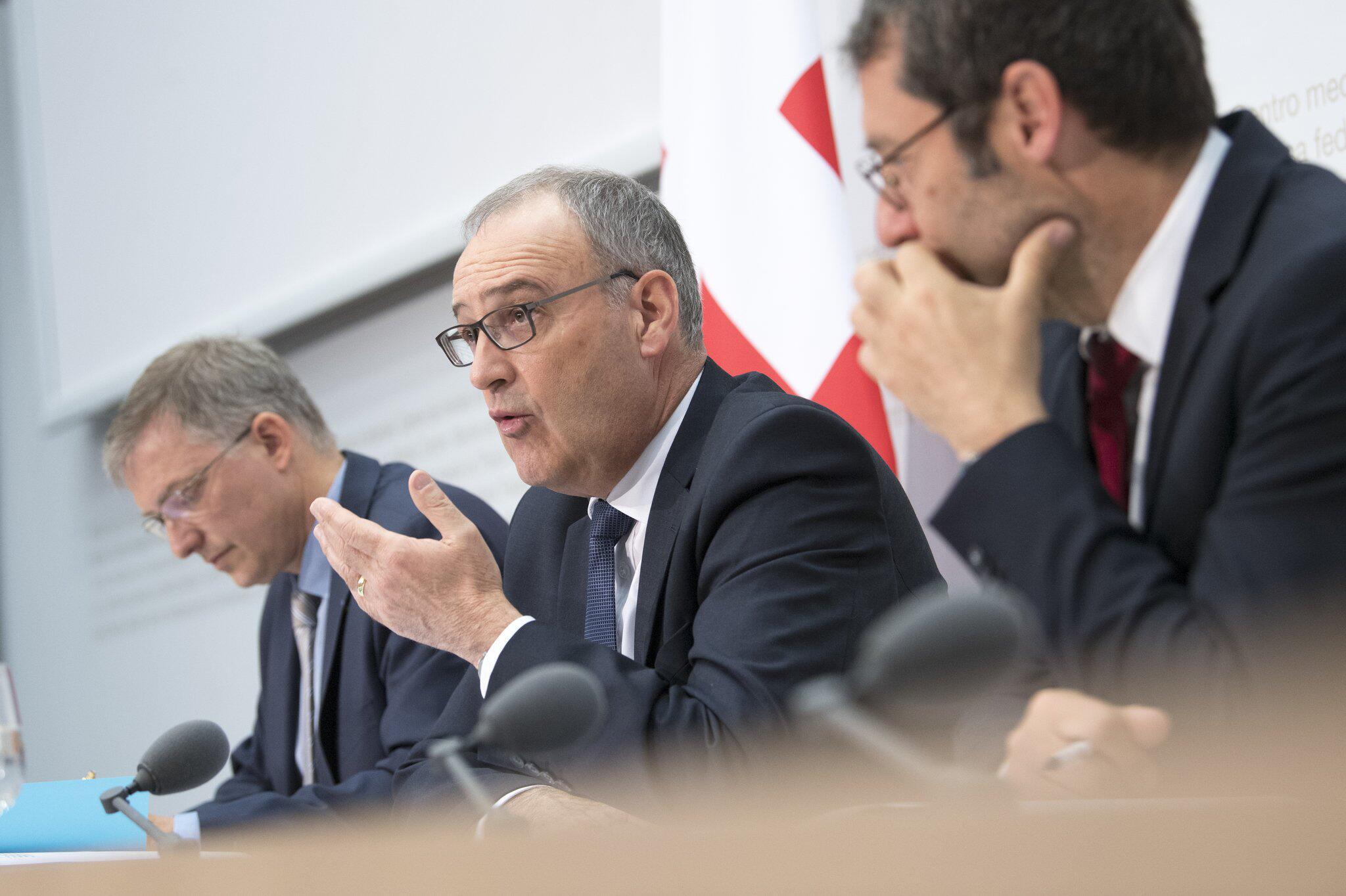 Bild zu Jahrespressekonferenz Schweizer Nachrichtendienst NDB