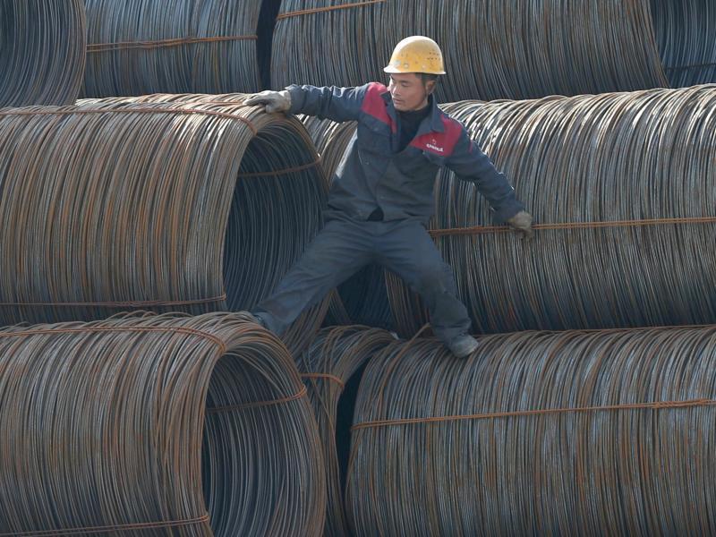 Bild zu Stahlindustrie in China