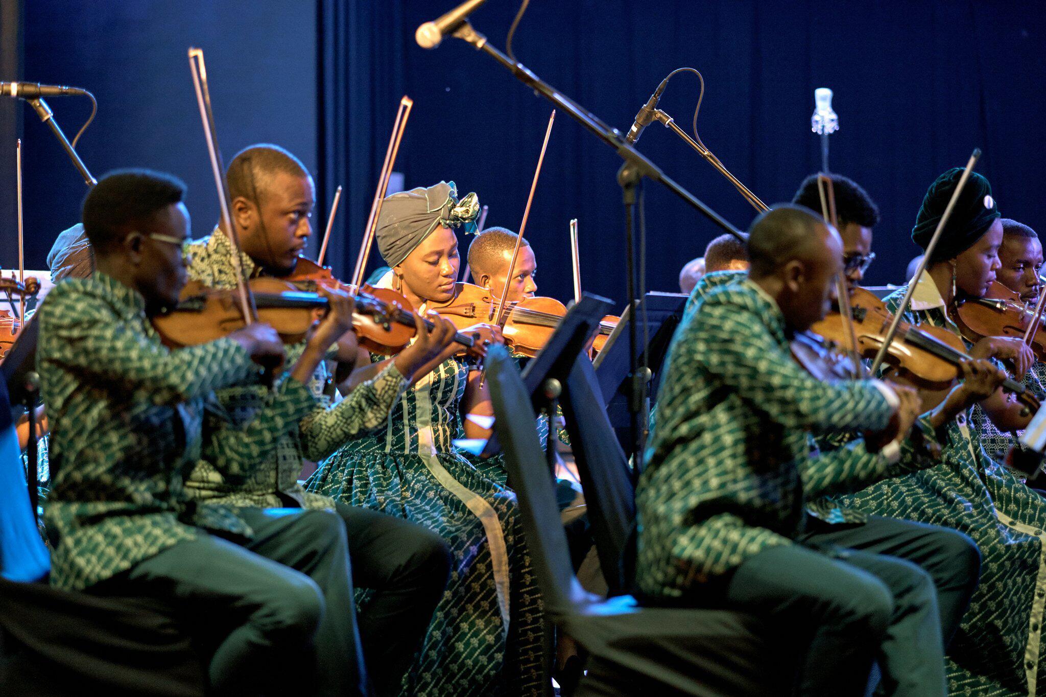 Bild zu Einziges Symphonie-Orchester Zentralafrikas