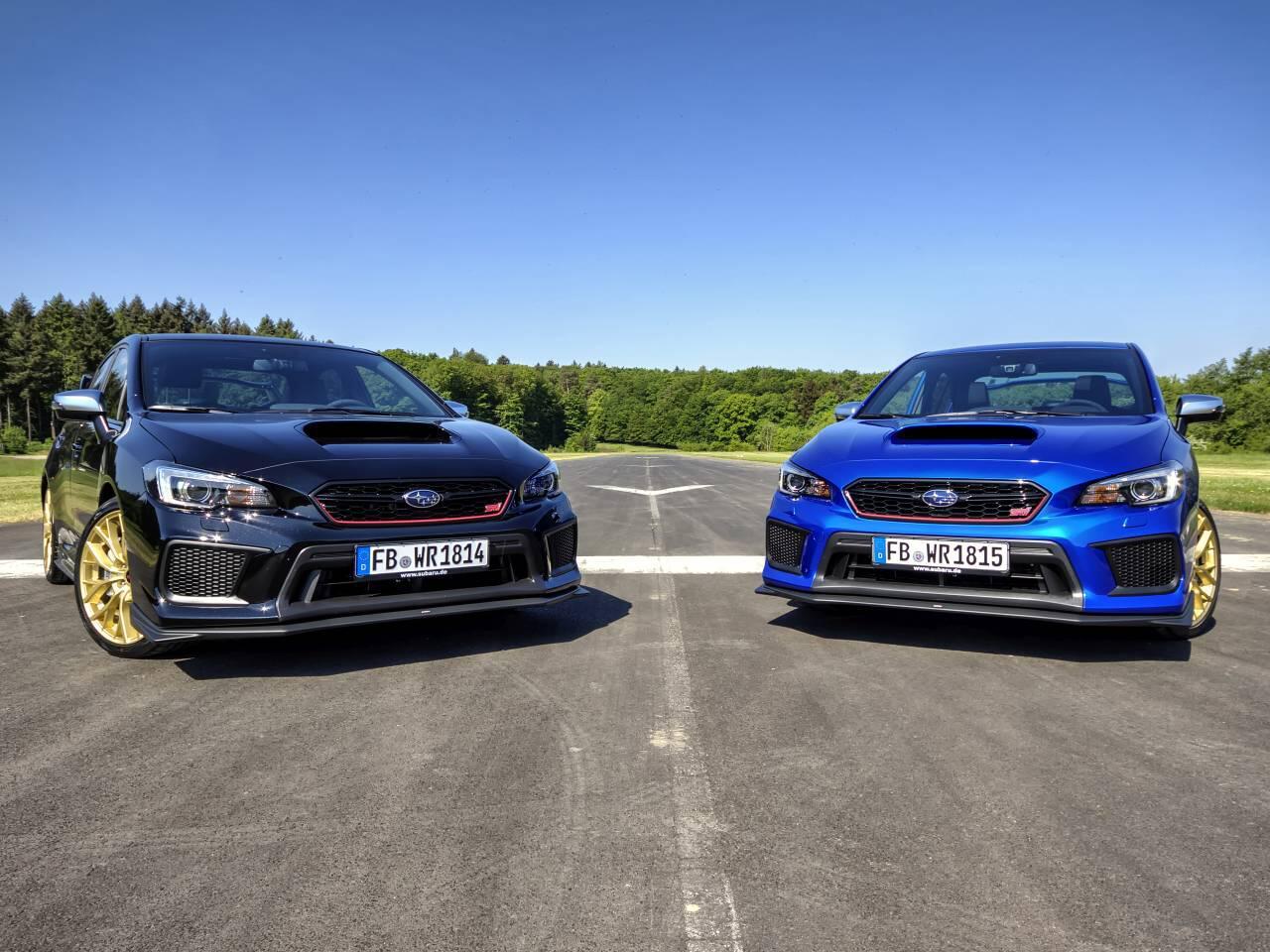 "Bild zu Subaru WRX STI ""Final Edition"""