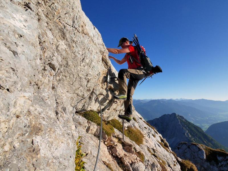 Klettersteig Wien : Rotschitza klamm klettersteig bergnews