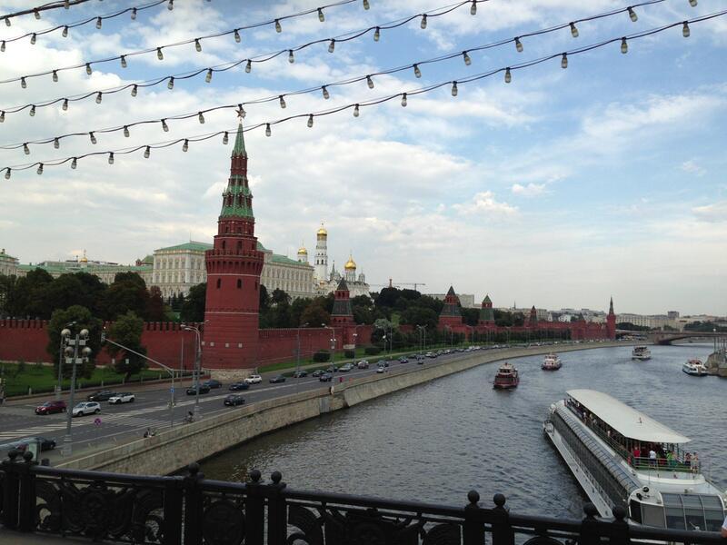 Bild zu Bootstour Moskau