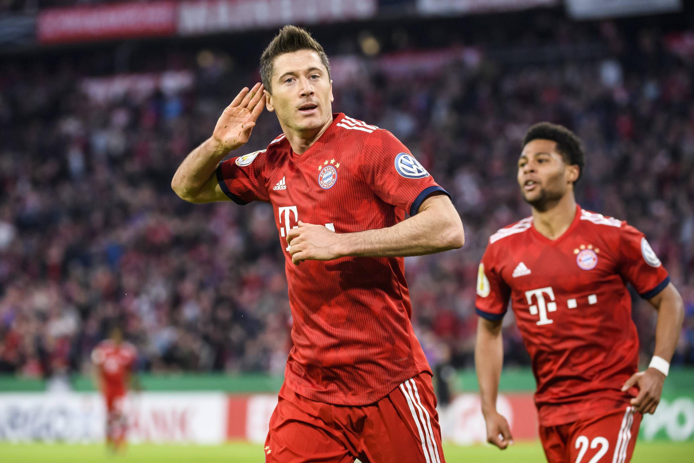 Bild zu FC Bayern Robert Lewandowski