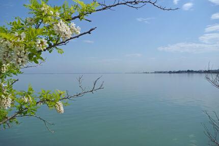 Ein Blick auf die Lagune von Marano.