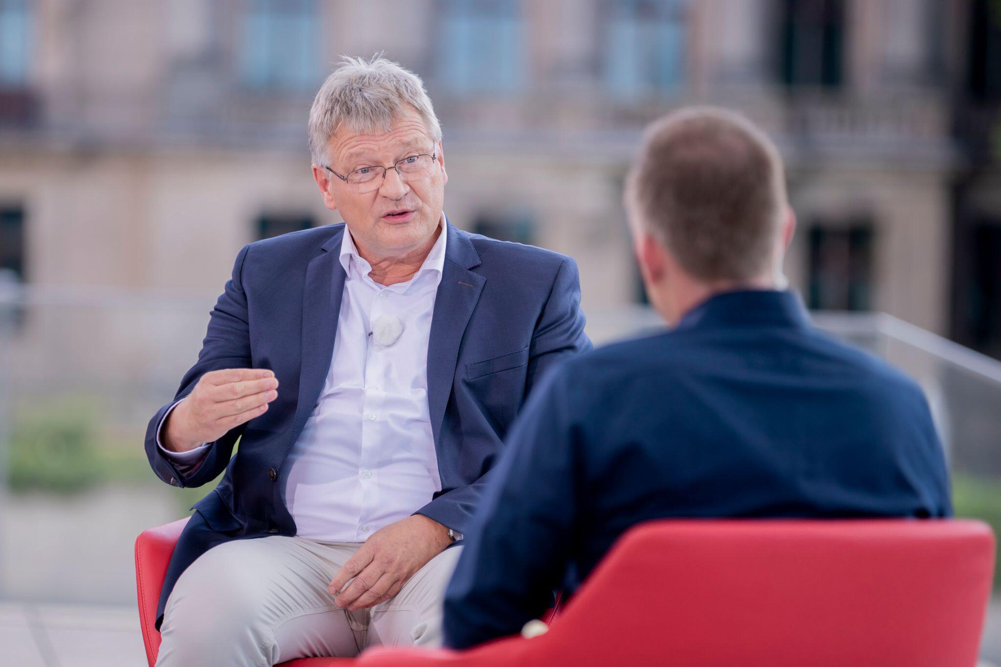 Bild zu ARD-Sommerinterview mit AfD-Bundessprecher Meuthen