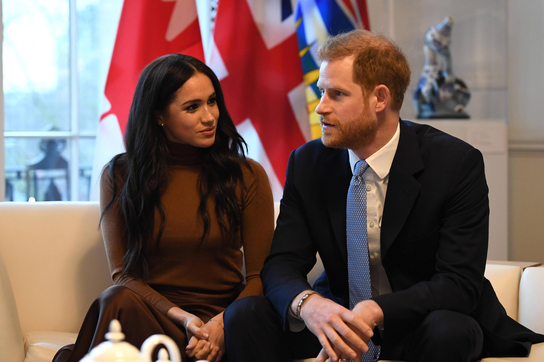 Bild zu Herzogin Meghan, Prinz Harry