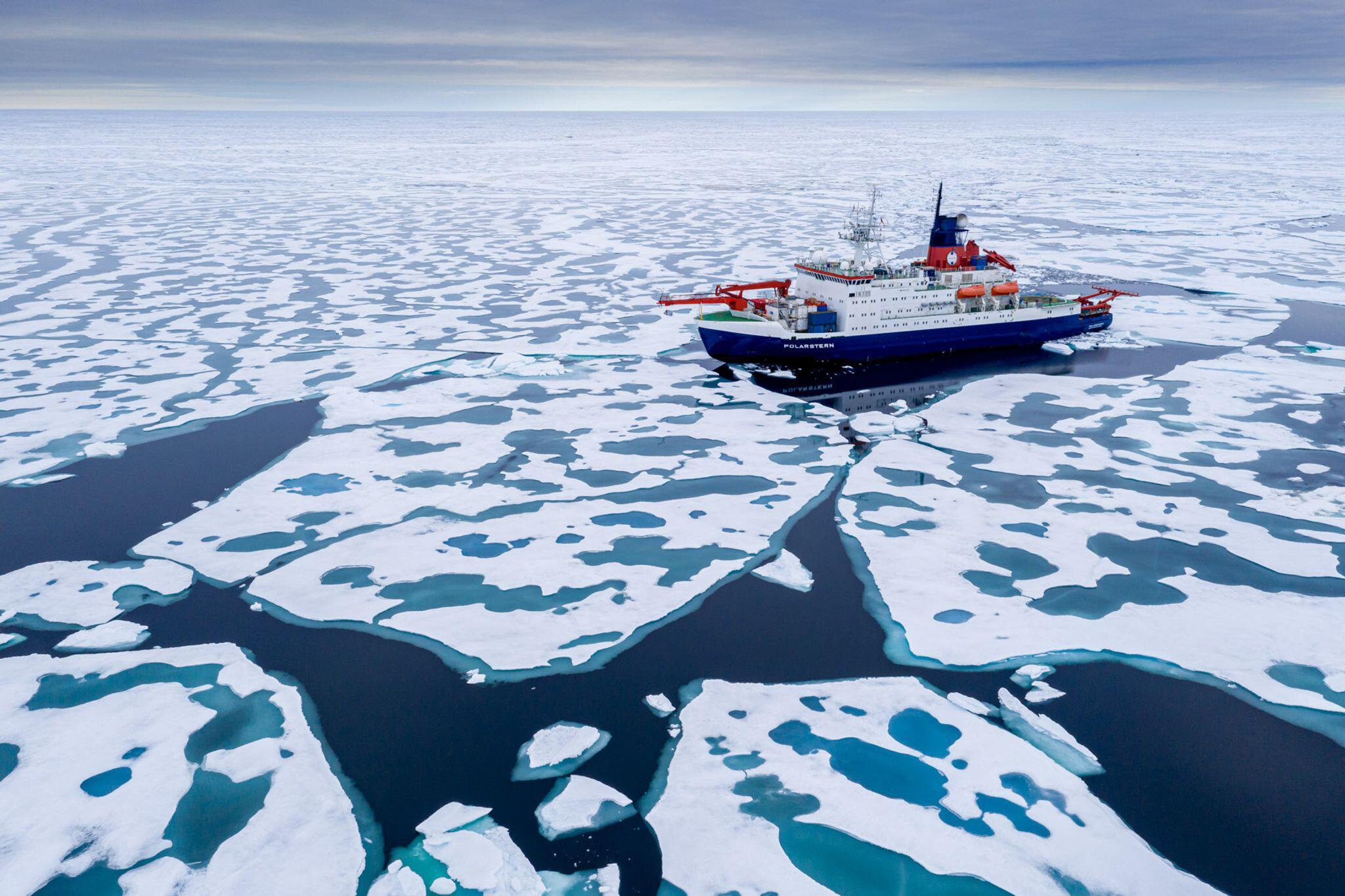 Bild zu «Polarstern» kehrt von Arktis-Expedition zurück