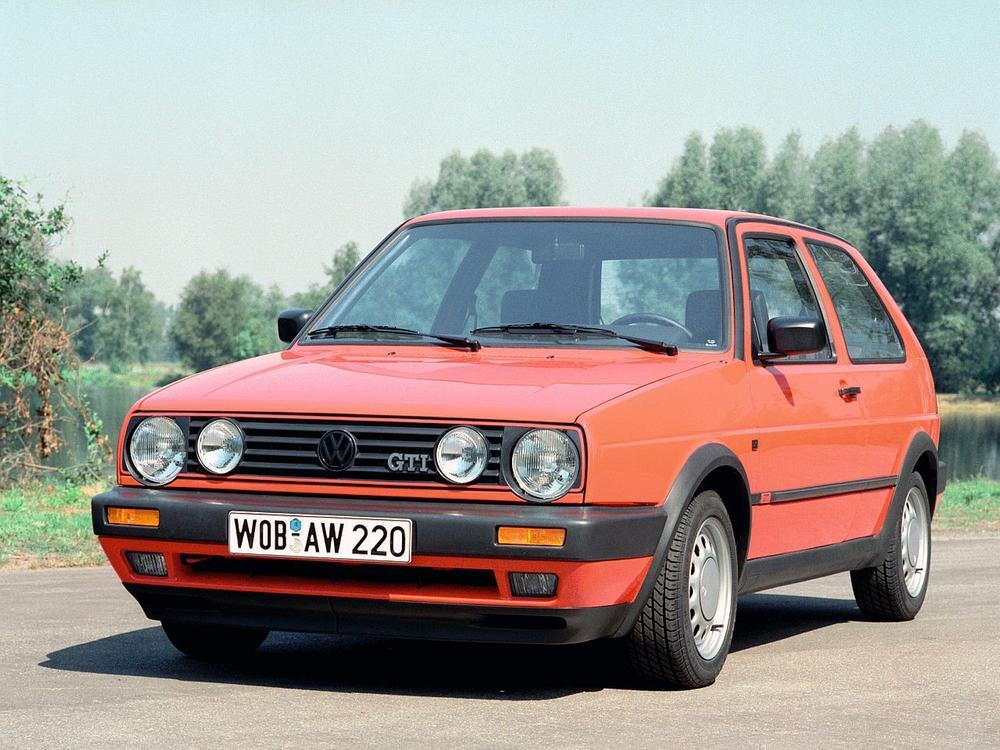 Bild zu VW Golf GTI II