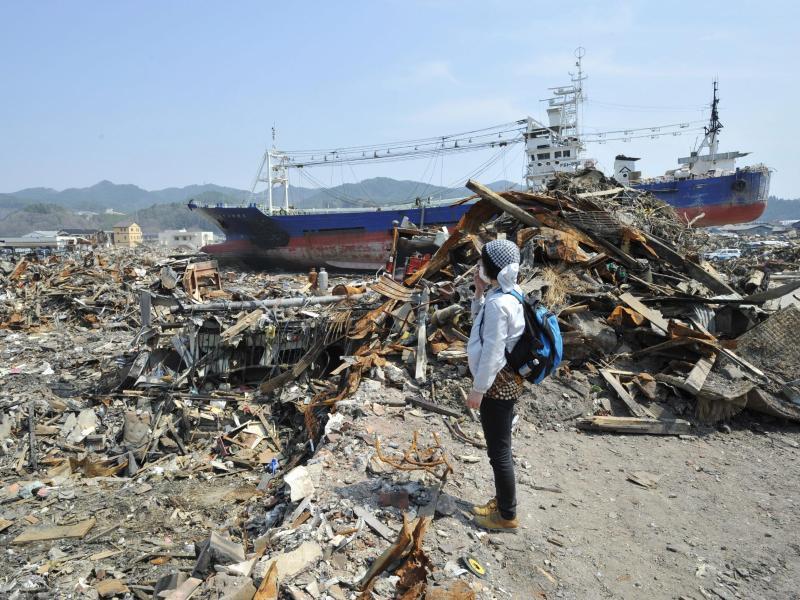 Bild zu Nach Erdbeben und Tsunami in Japan