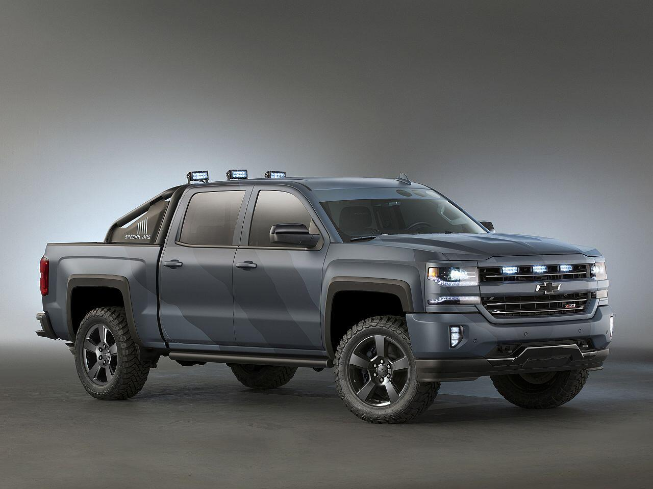 Bild zu Chevrolet Silverado Special Ops