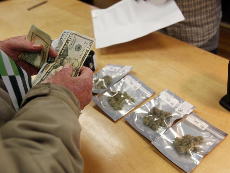 Bild zu Marihuana-Verkauf in Kalifornien