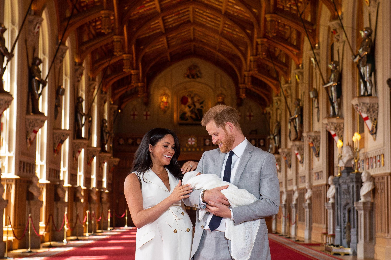 Bild zu Prinz Harry, Herzogin Meghan, Archie