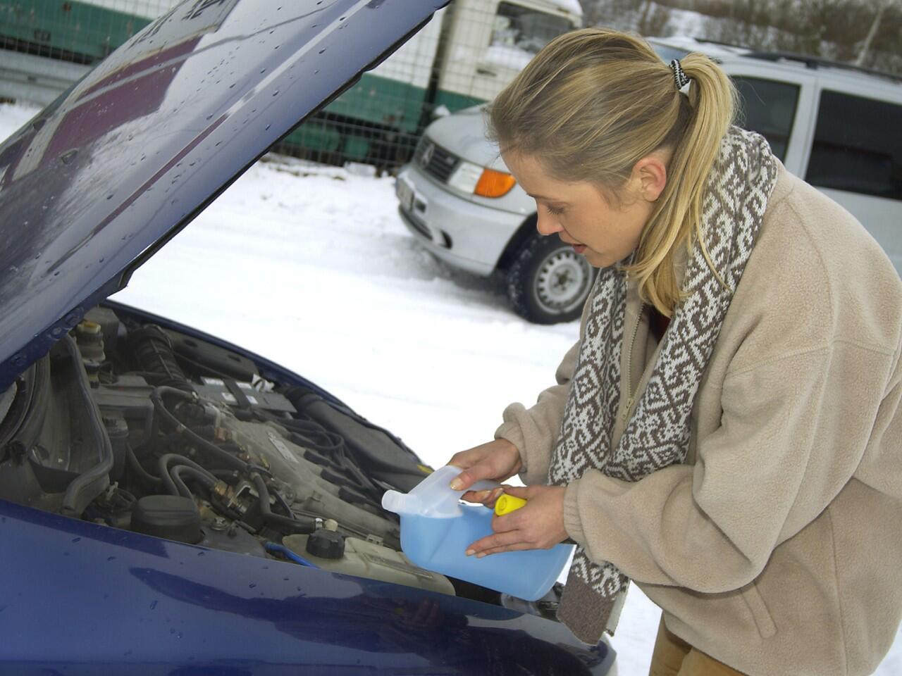 Bild zu Frostschutz für das Kühlwasser: Bei Vergessen drohen Motorschäden