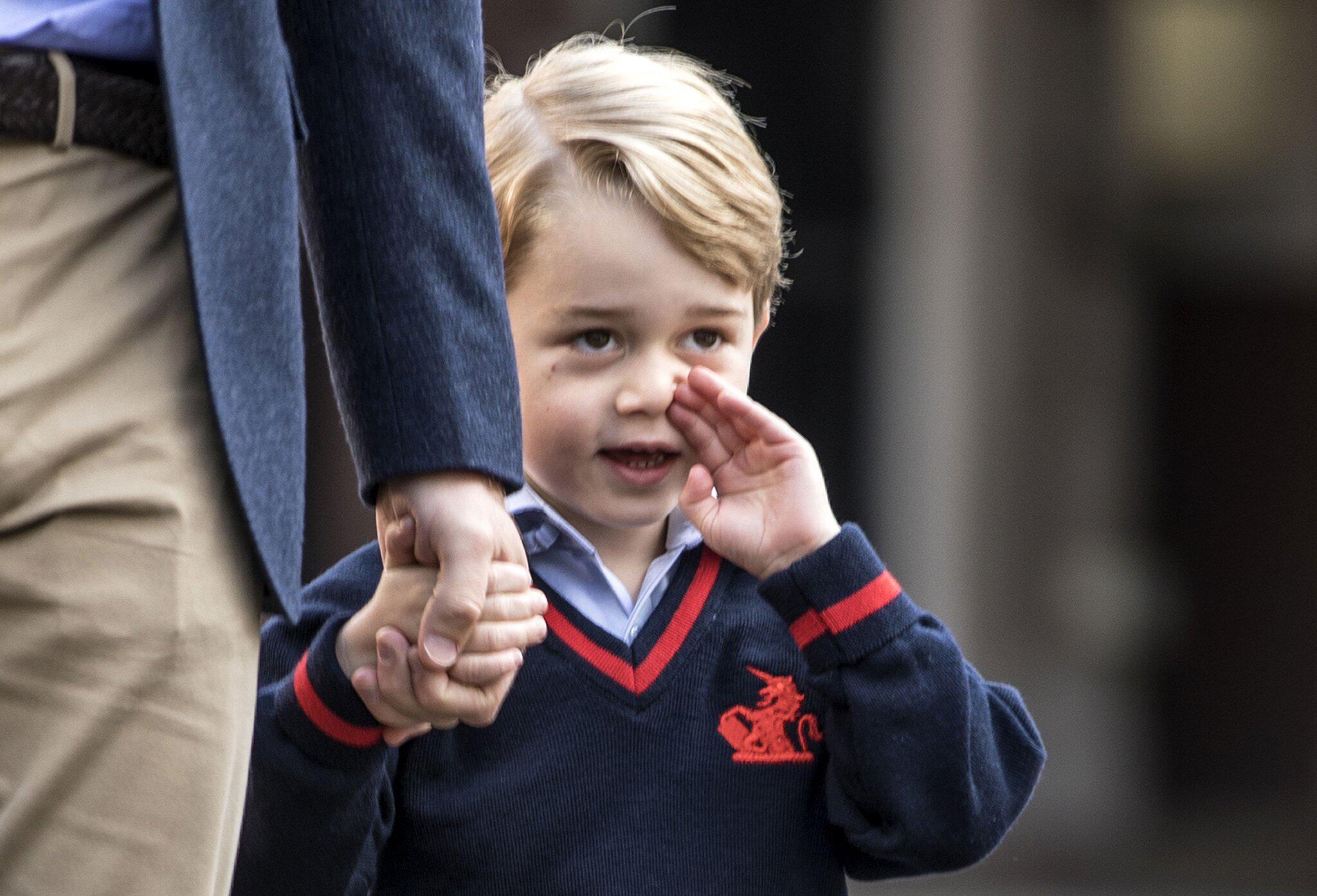 Bild zu Prinz George