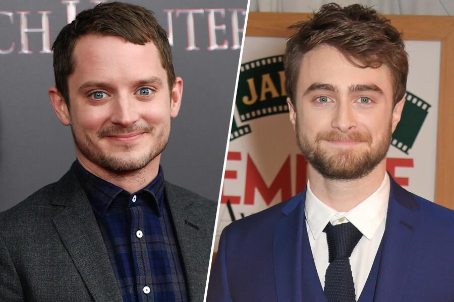Bild zu Elijah Wood und Daniel Radcliffe sehen aus wie Zwillinge