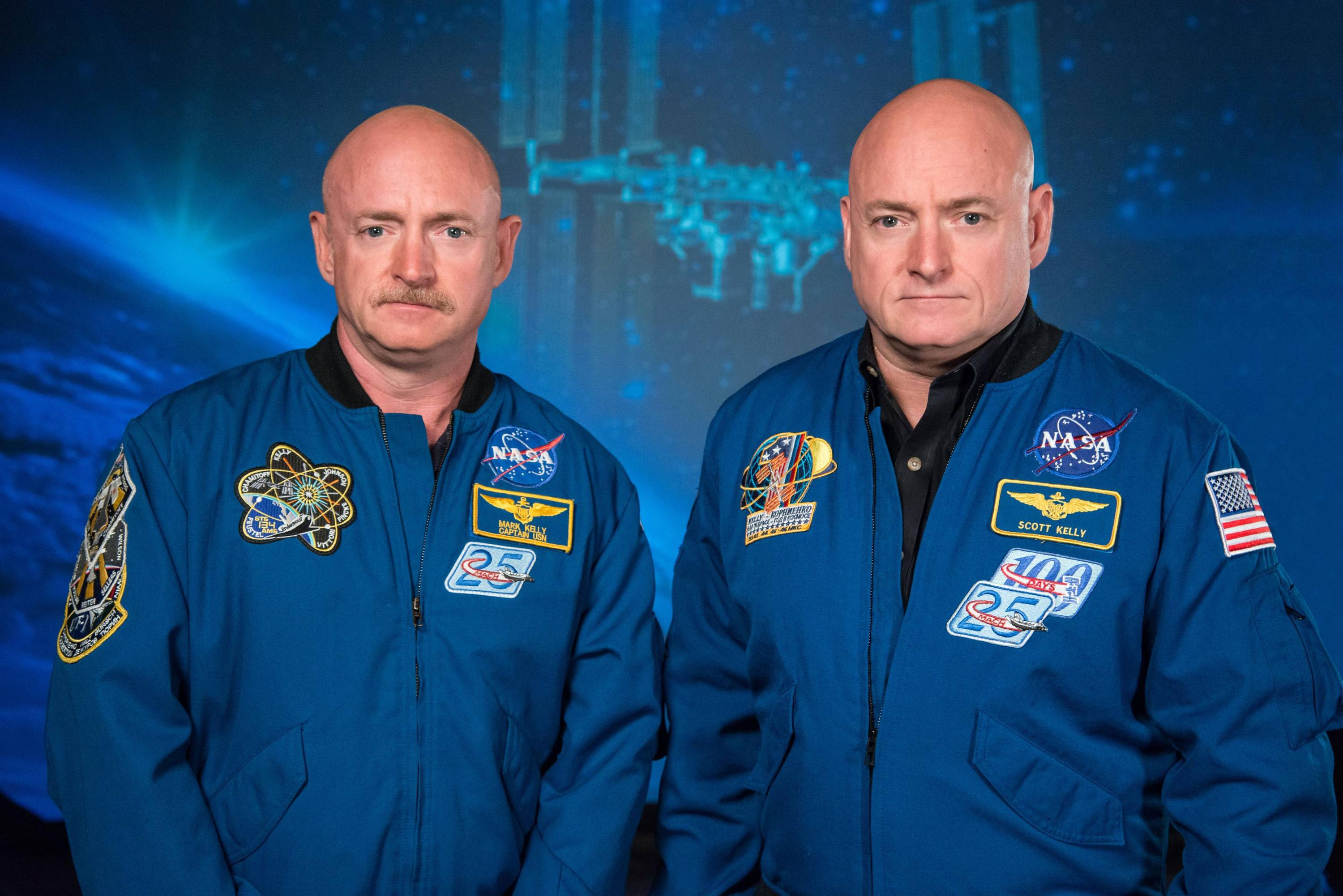 Bild zu Scott Kelly, Mark Kelly