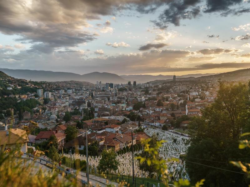 Erinnerung an den Krieg: Sarajevos \