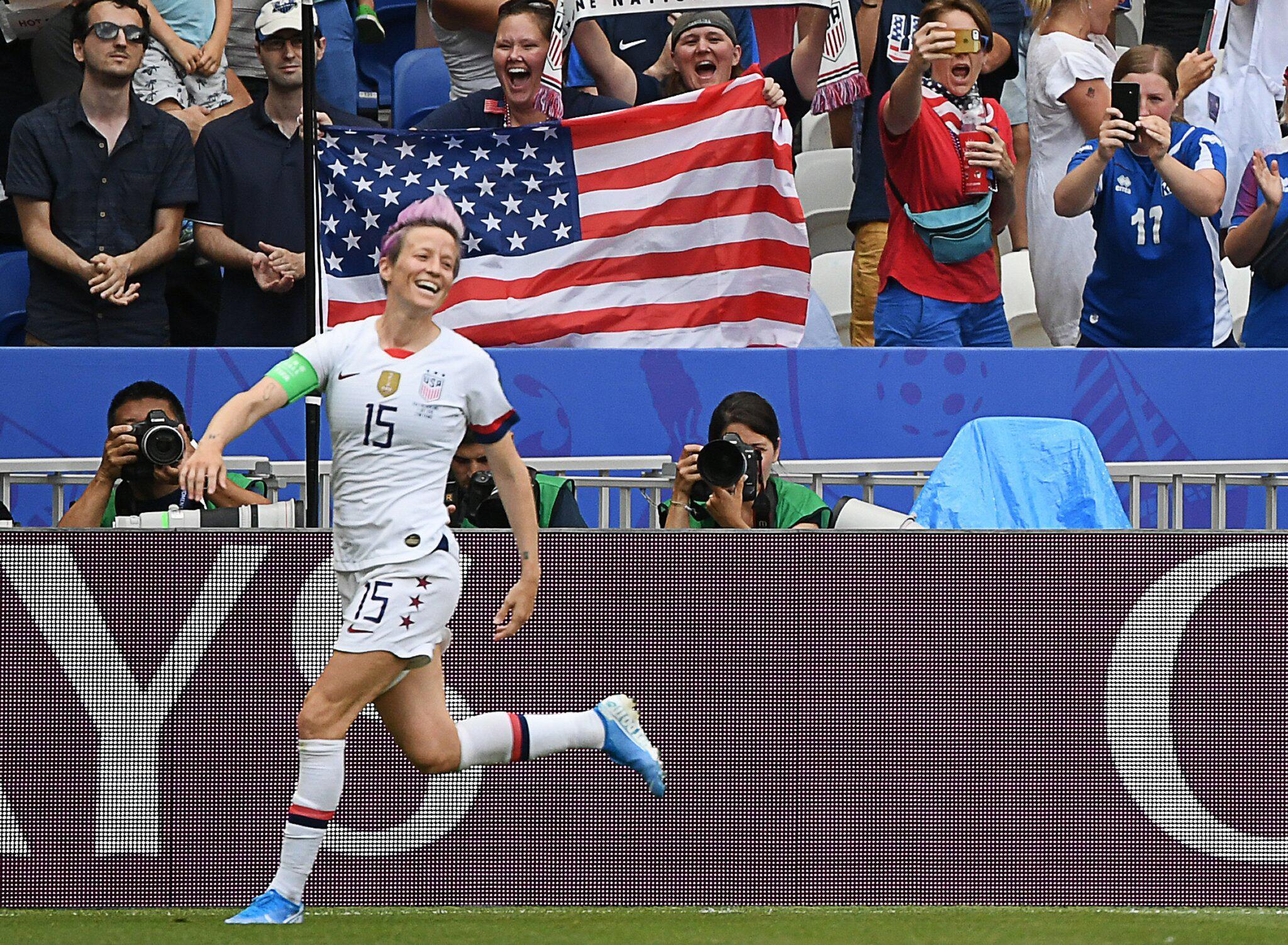 Bild zu Frauenfußball-WM - USA - Niederlande