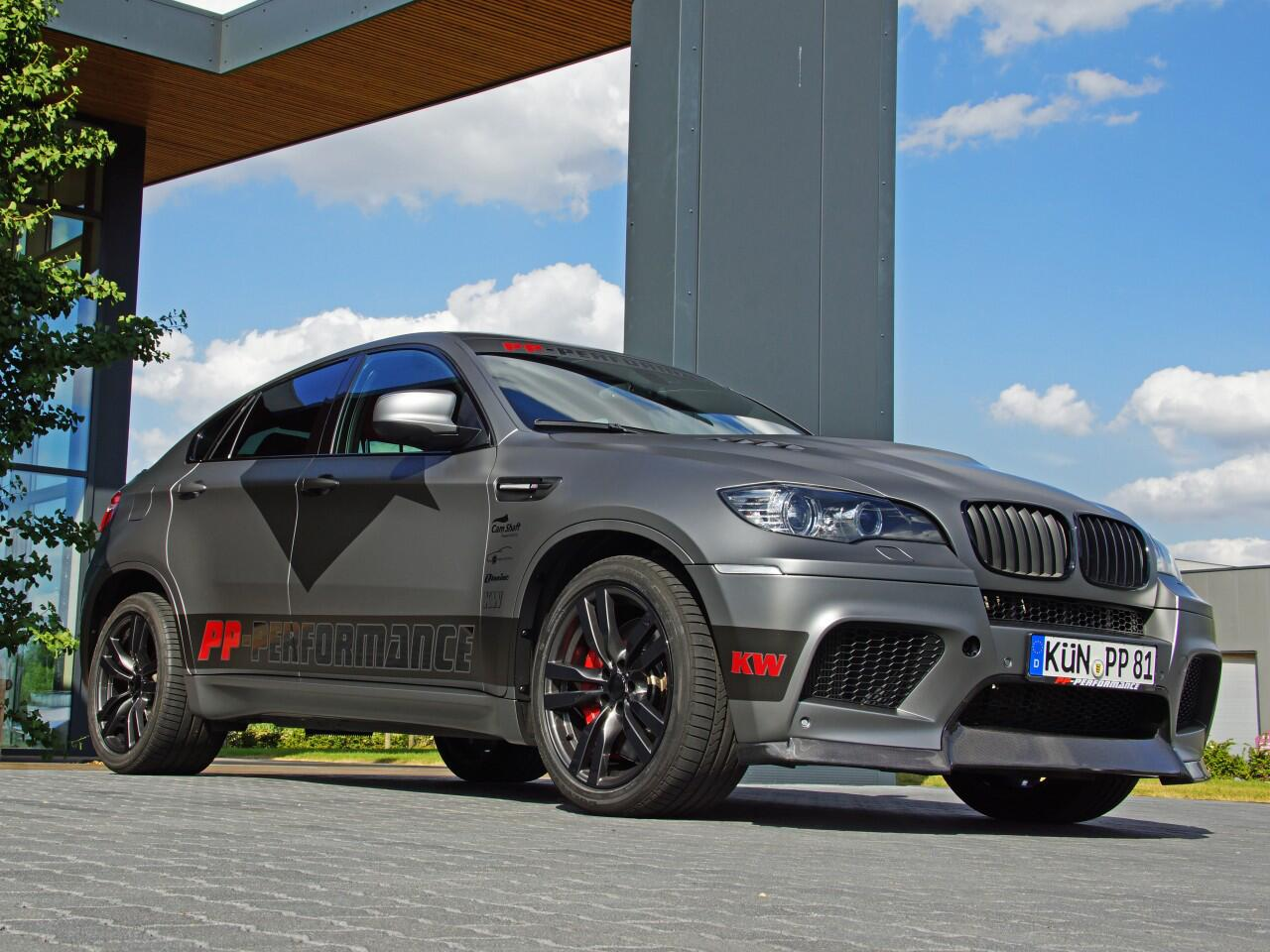 Bild zu BMW X6M von PP-Performance und Cam Shaft