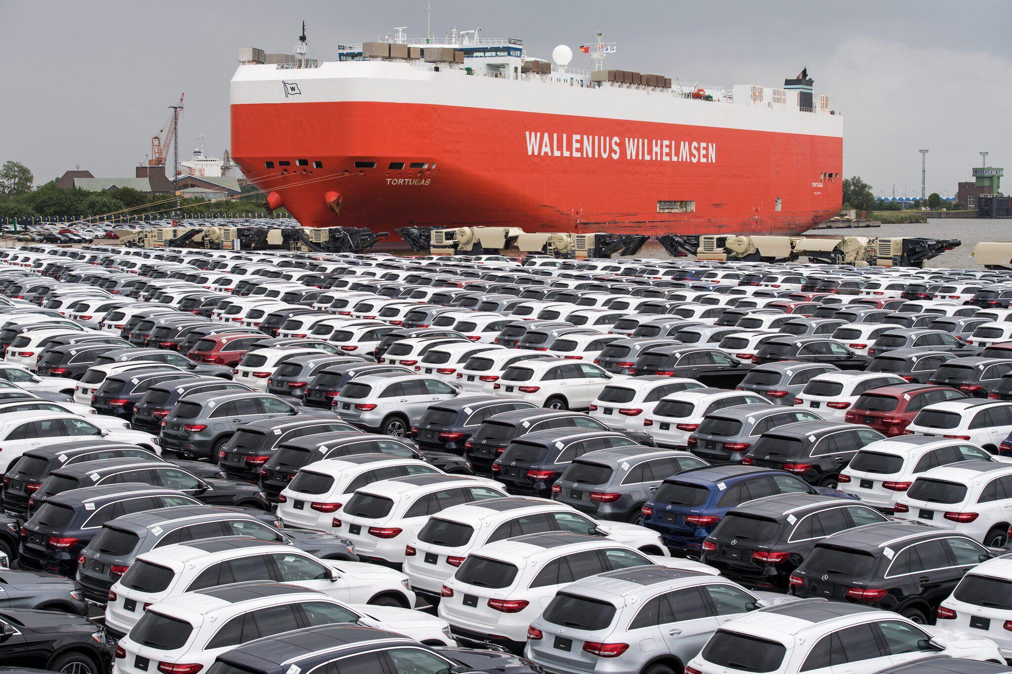 Bild zu Deutsche Auto-Exporte