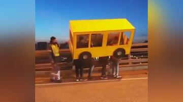 Bild zu Bus Verkleidung
