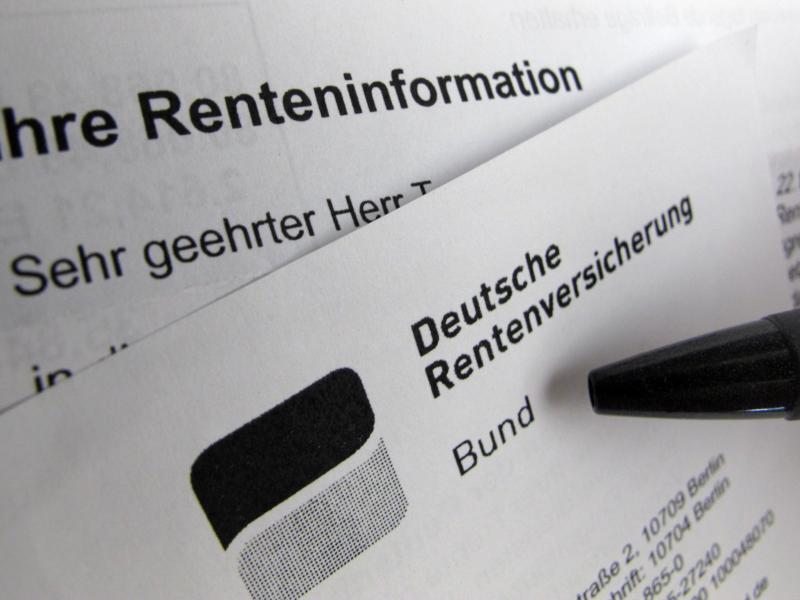 Bild zu Renteninformation