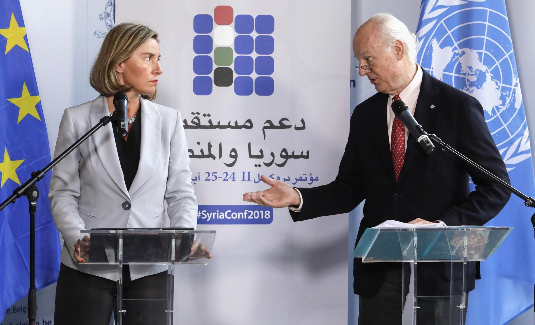 Bild zu Syrien-Konferenz in Brüssel