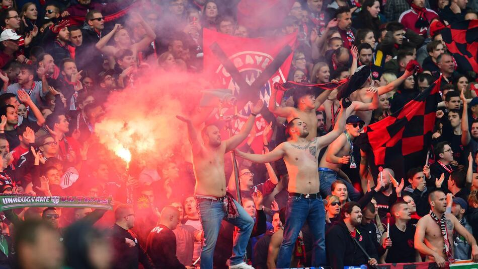 1. FC Nürnberg - Bayern München 1:1