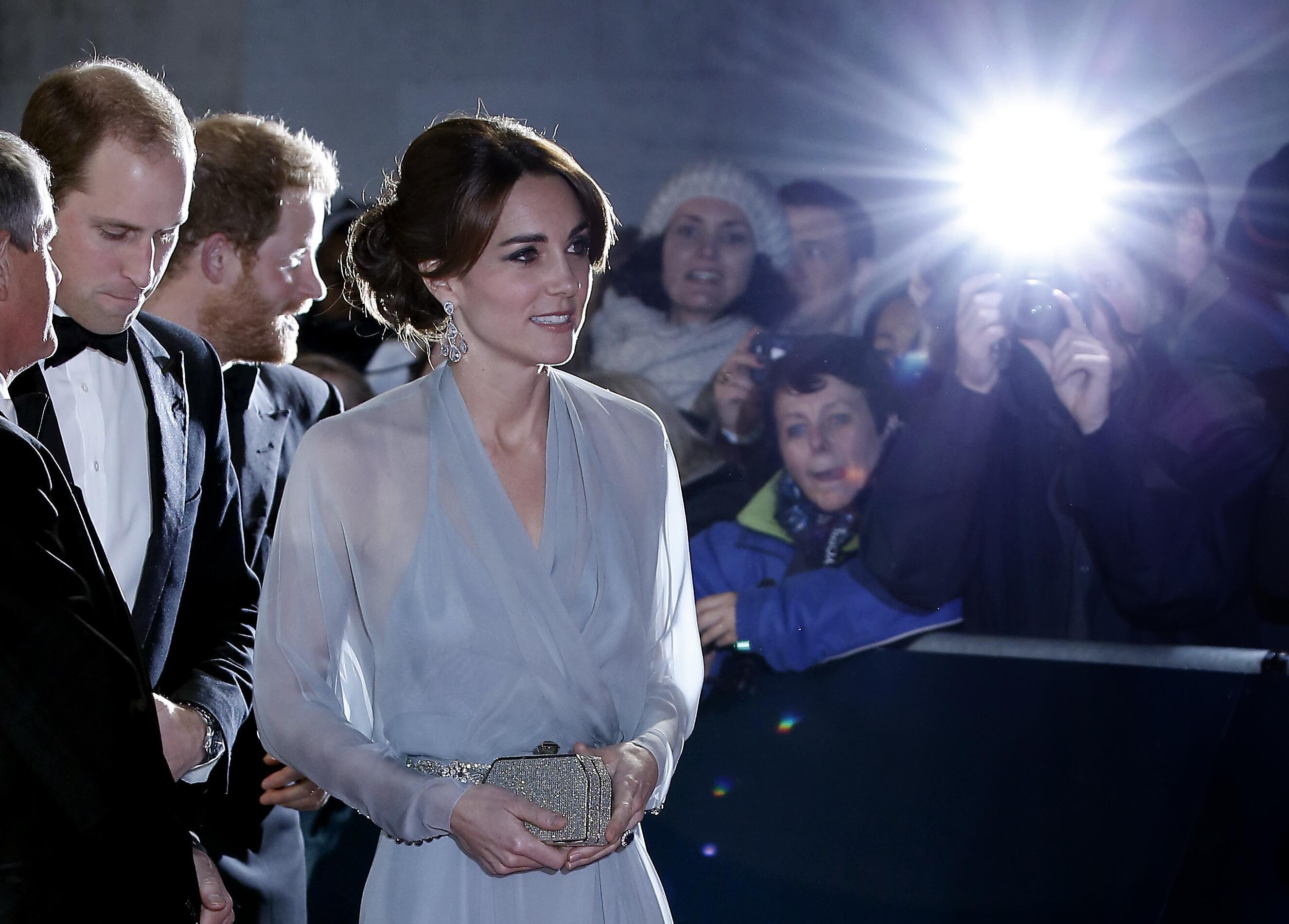 Bild zu Prinz William, Herzogin Kate Middleton