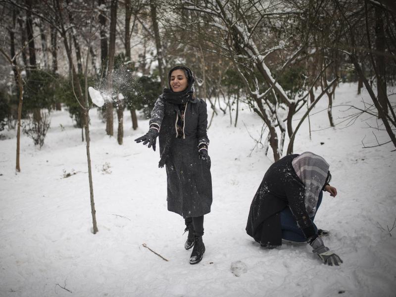 Bild zu Winterwetter in Teheran