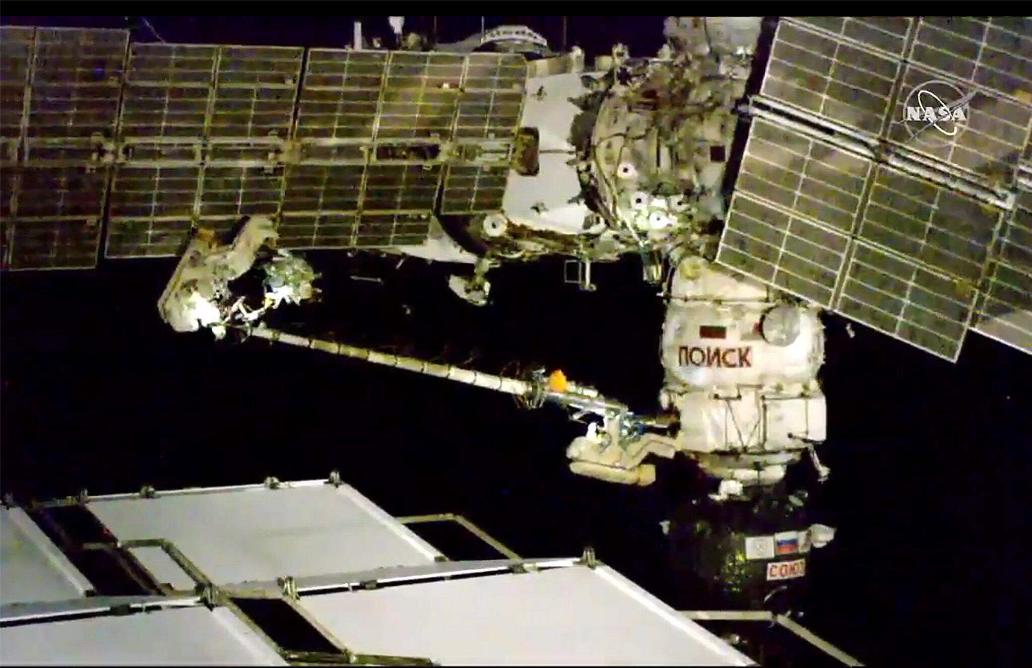 Bild zu ISS-Außeneinsatz