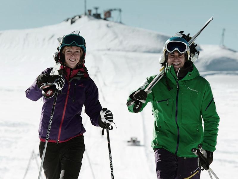 Bild zu Im Sommer zum Skifahren