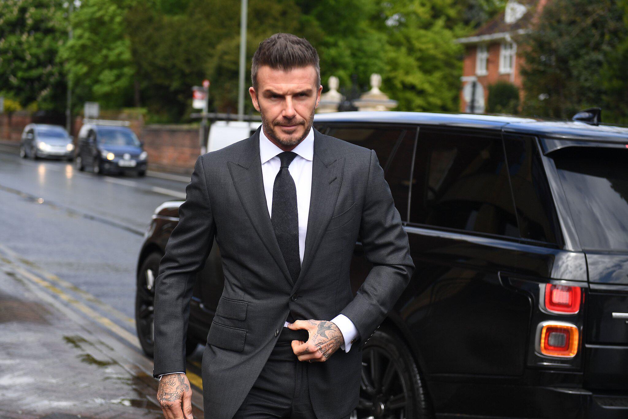 Bild zu David Beckham vor Gericht