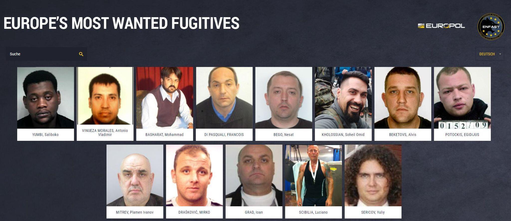 Bild zu «Most Wanted»: Europol sucht gefährlichste Sexualverbrecher