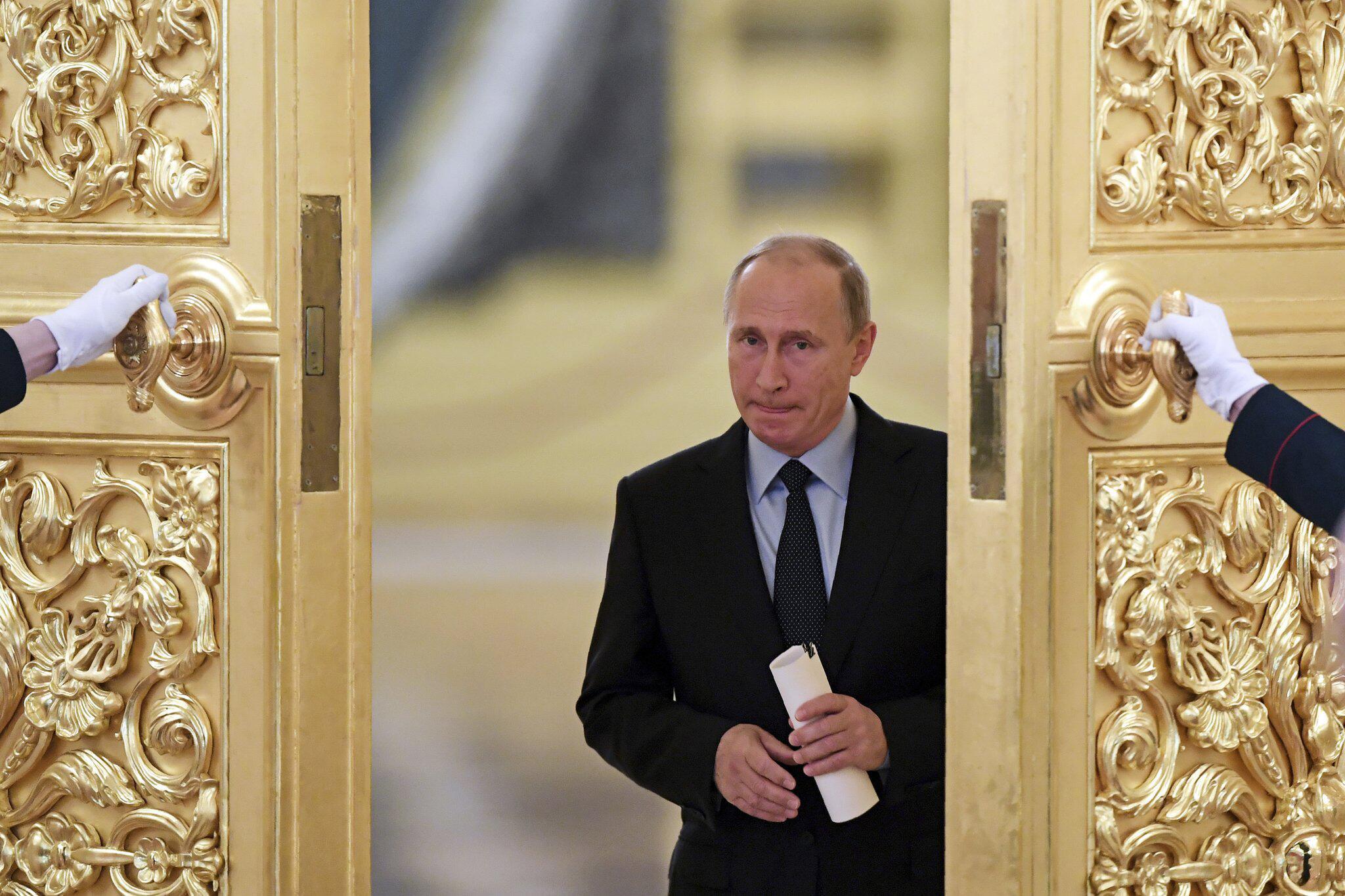 Bild zu Russlands Präsident Wladimir Putin im Kreml