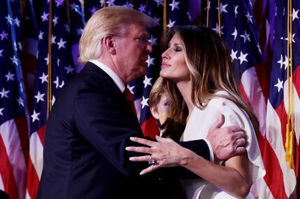 Donald Trump, Melania Trump, First Lady, US-Wahl
