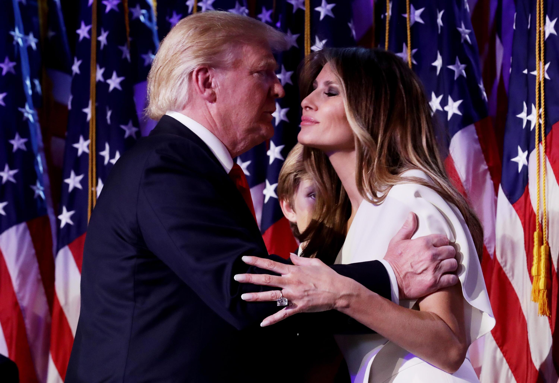 Bild zu Donald Trump, Melania Trump, First Lady, US-Wahl