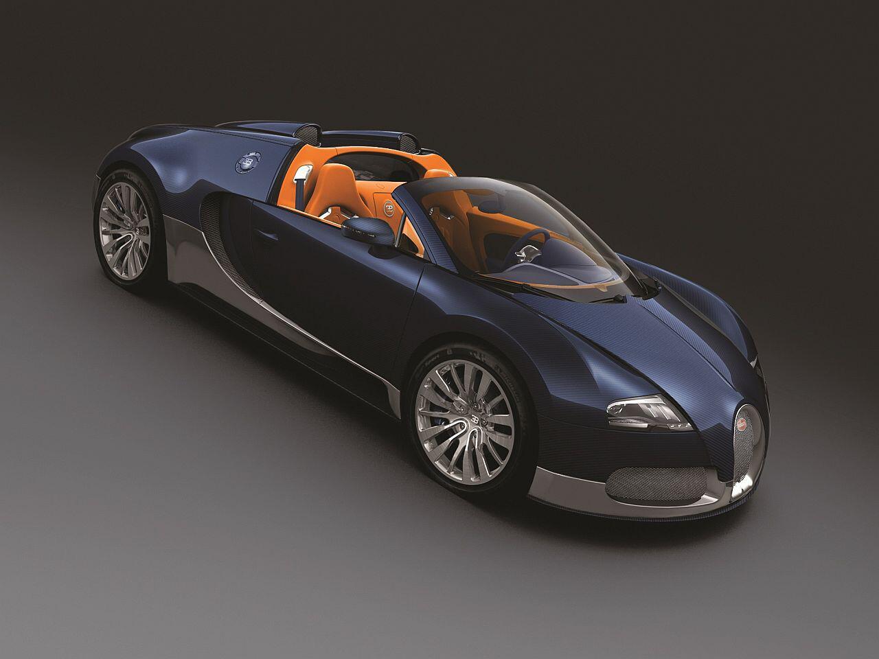 Bild zu Ebenfalls ein Dubai-Veyron: Das blaue Carbon ist das Highlight