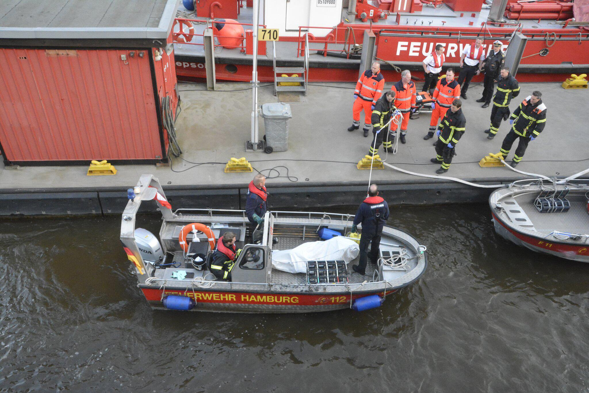 Bild zu Leiche in Elbe gefunden