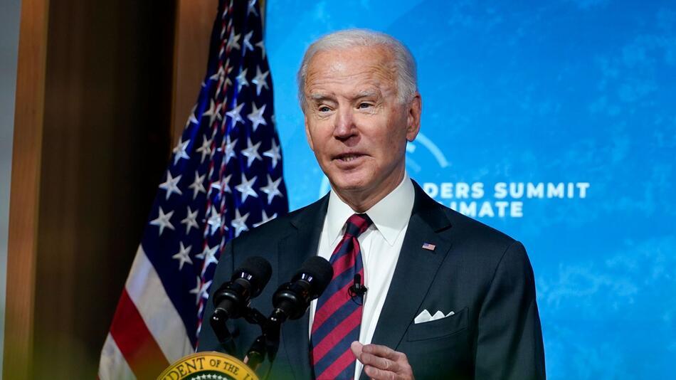 Virtueller internationaler Klima-Gipfel - US-Präsident Biden