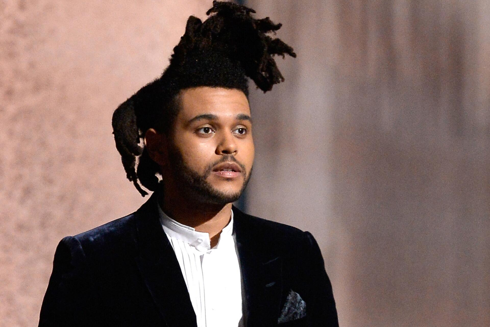 The Weeknd Single Starboy Mit Daft Punk Und Haare Endlich Ab